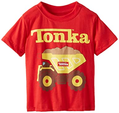 06be55cc90f Amazon.com  Tonka Boys  Short Sleeve T-Shirt  Fashion T Shirts  Clothing