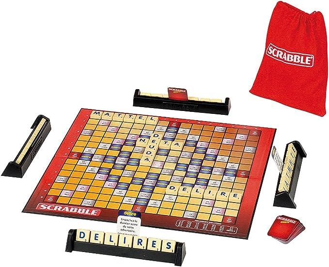 Juegos Mattel - Scrabble Delirium (Mattel T8205): Amazon.es: Juguetes y juegos