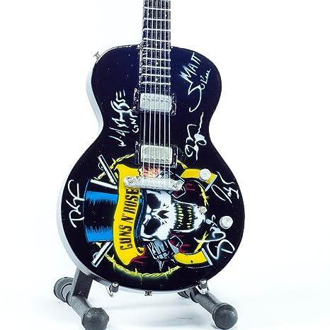 Réplica de guitarra en miniatura-minirregalo para los amantes de