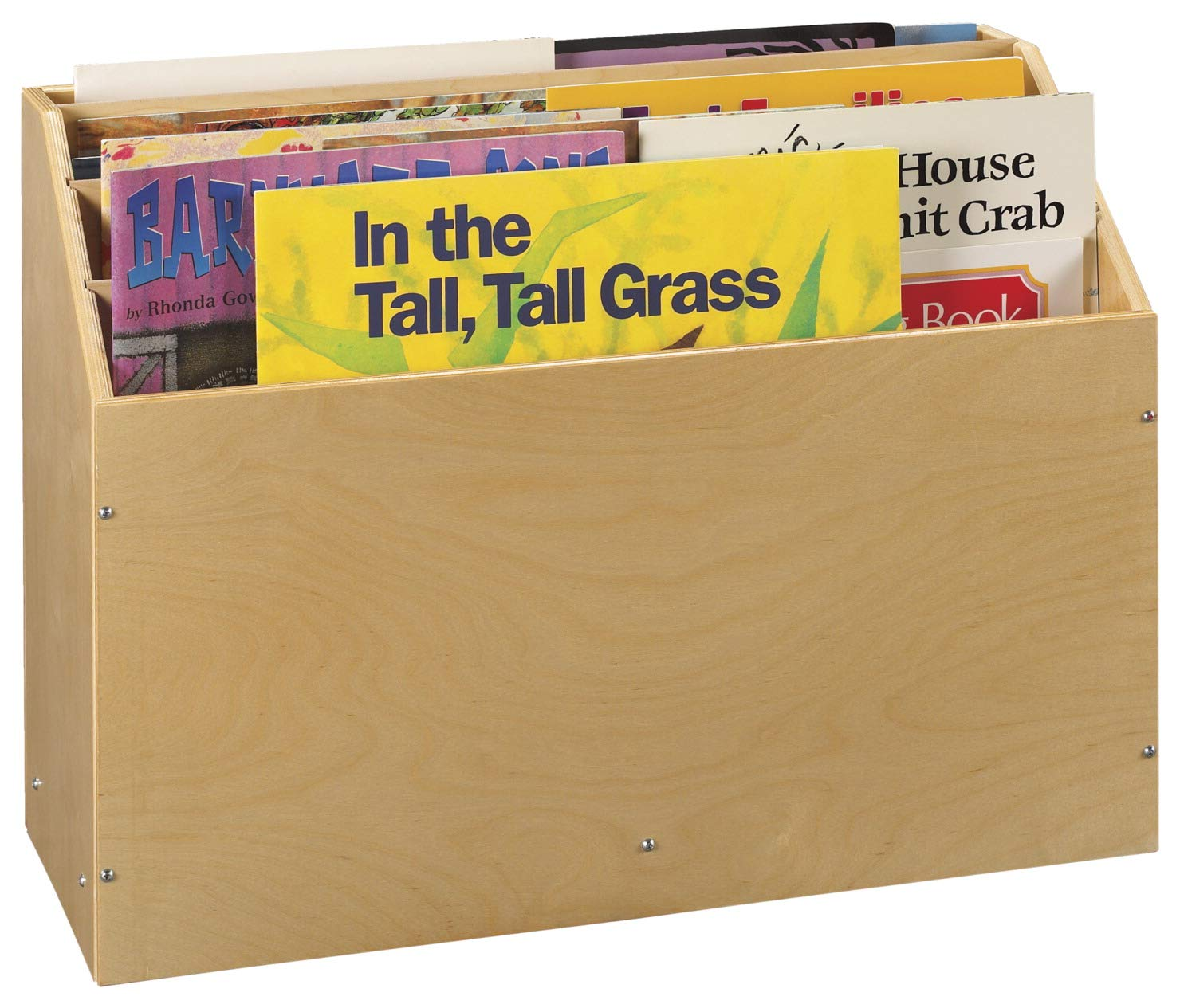 Childcraft Mobile Big Book Storage, 4 Compartments, 29-3/4 x 12-1/2 x 22-5/8 Inches by Childcraft