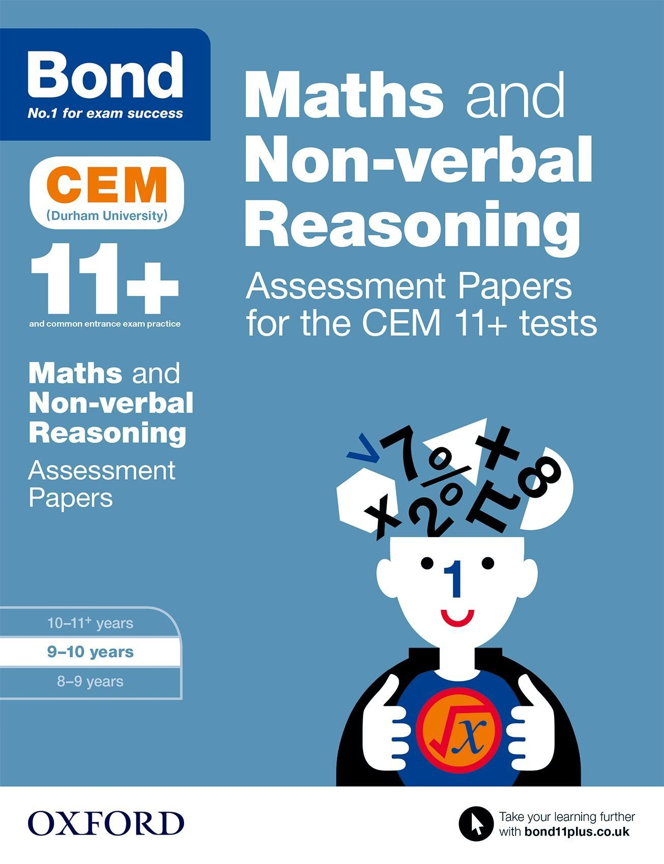 Bond 11+: Maths and Non-Verbal Reasoning: Assessment Papers for the ...