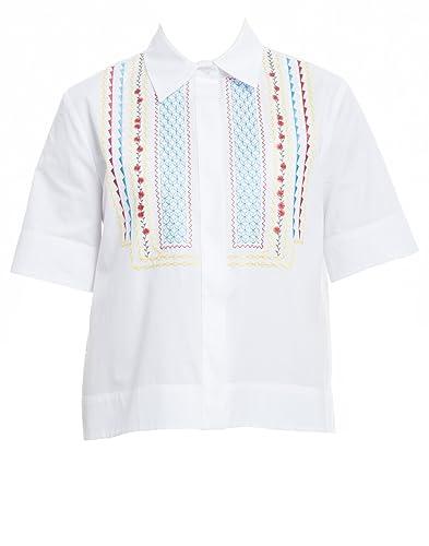 Miahatami Mujer S17SH842RP0P09 Blanco Algodon Camisa