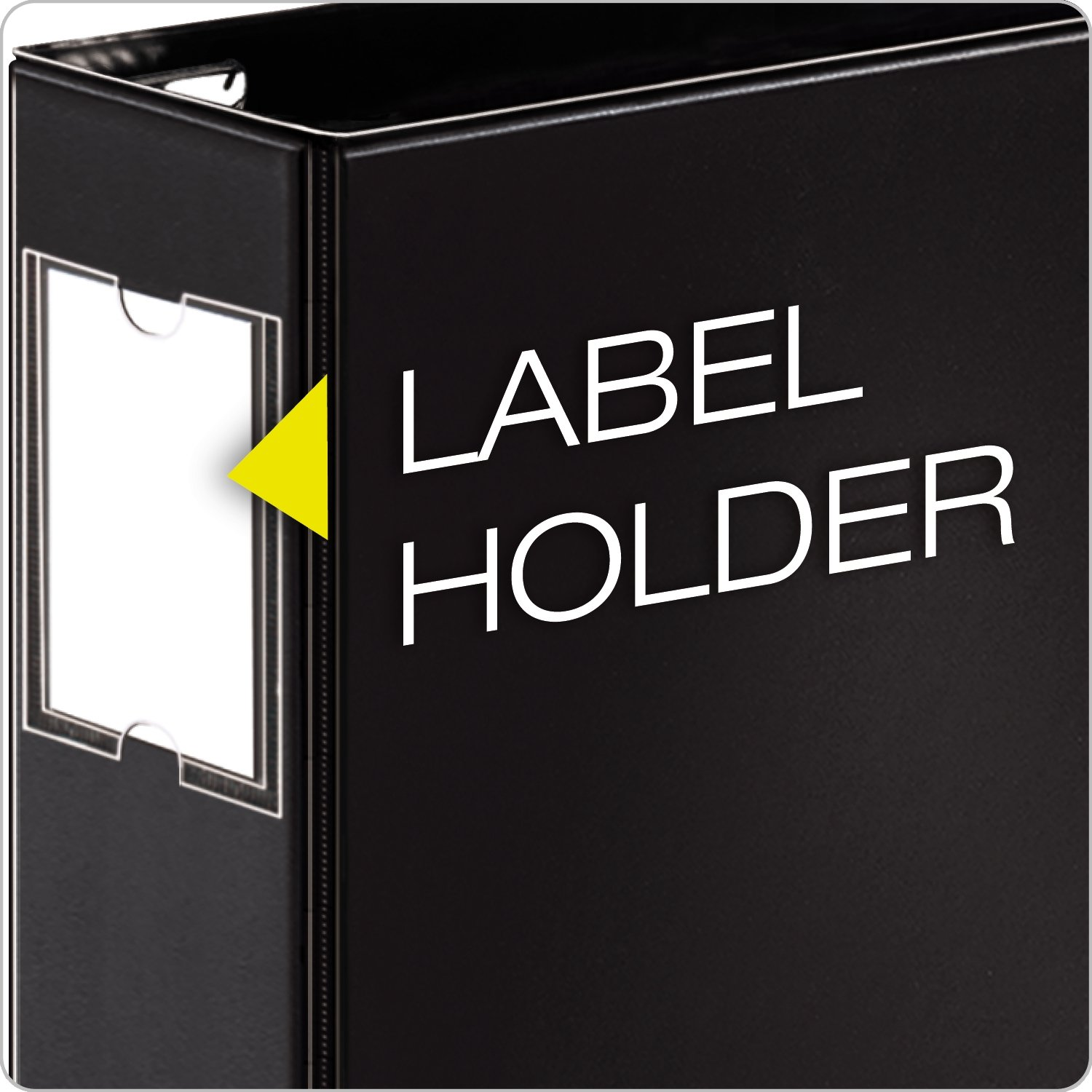 Cardinal by TOPS Products EasyOpen Tabloid 11 x 17 Inch Locking Slant D-Ring Binder with Label Holder CRD12122 1.5 Inch Capacity Black