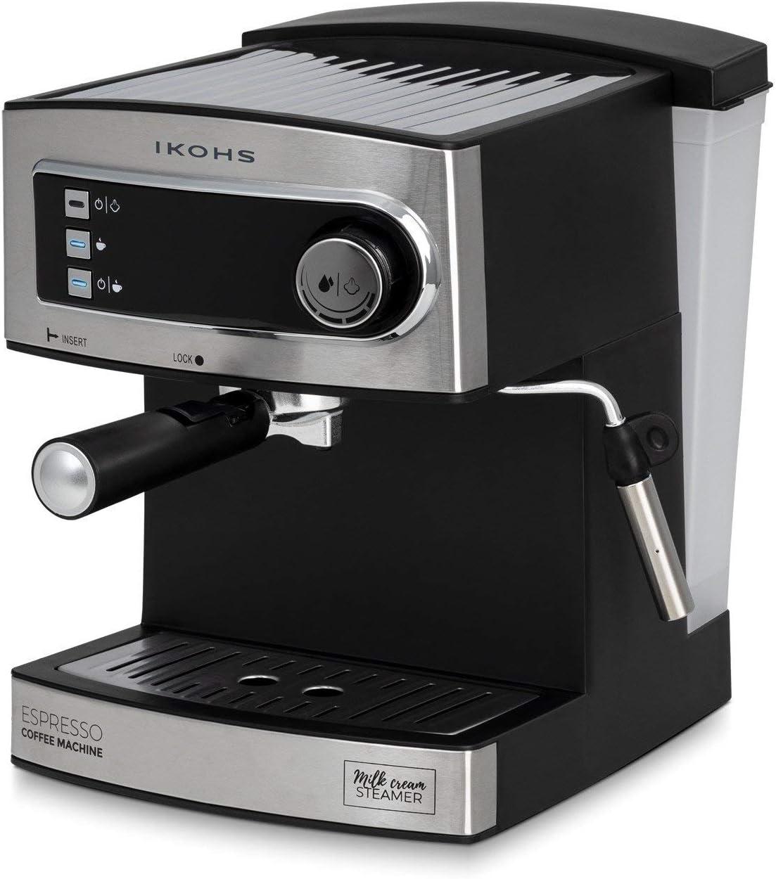 IKOHS CÖHF Espresso - Cafetera Express para Espresso y Capuccino ...