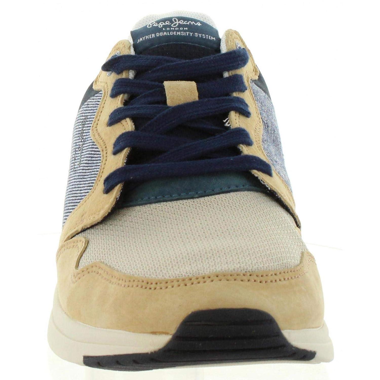 55417d72f6 Zapatillas Deporte de Hombre PEPE JEANS PMS30514 JAYKER 847 Sand   Amazon.es  Zapatos y complementos