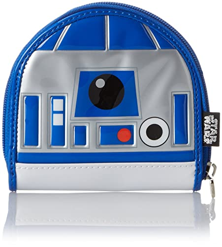 Amazon.com: Loungefly R2D2 Coin Bag Purse, Gris, talla única ...