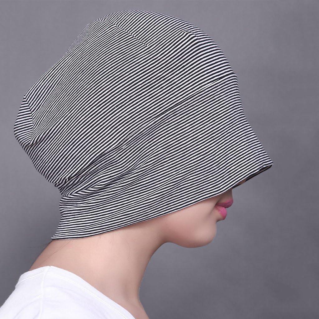 Bonarty 2x Unisex Cotton Soft Night Cap Sleep Eyecover Headcap