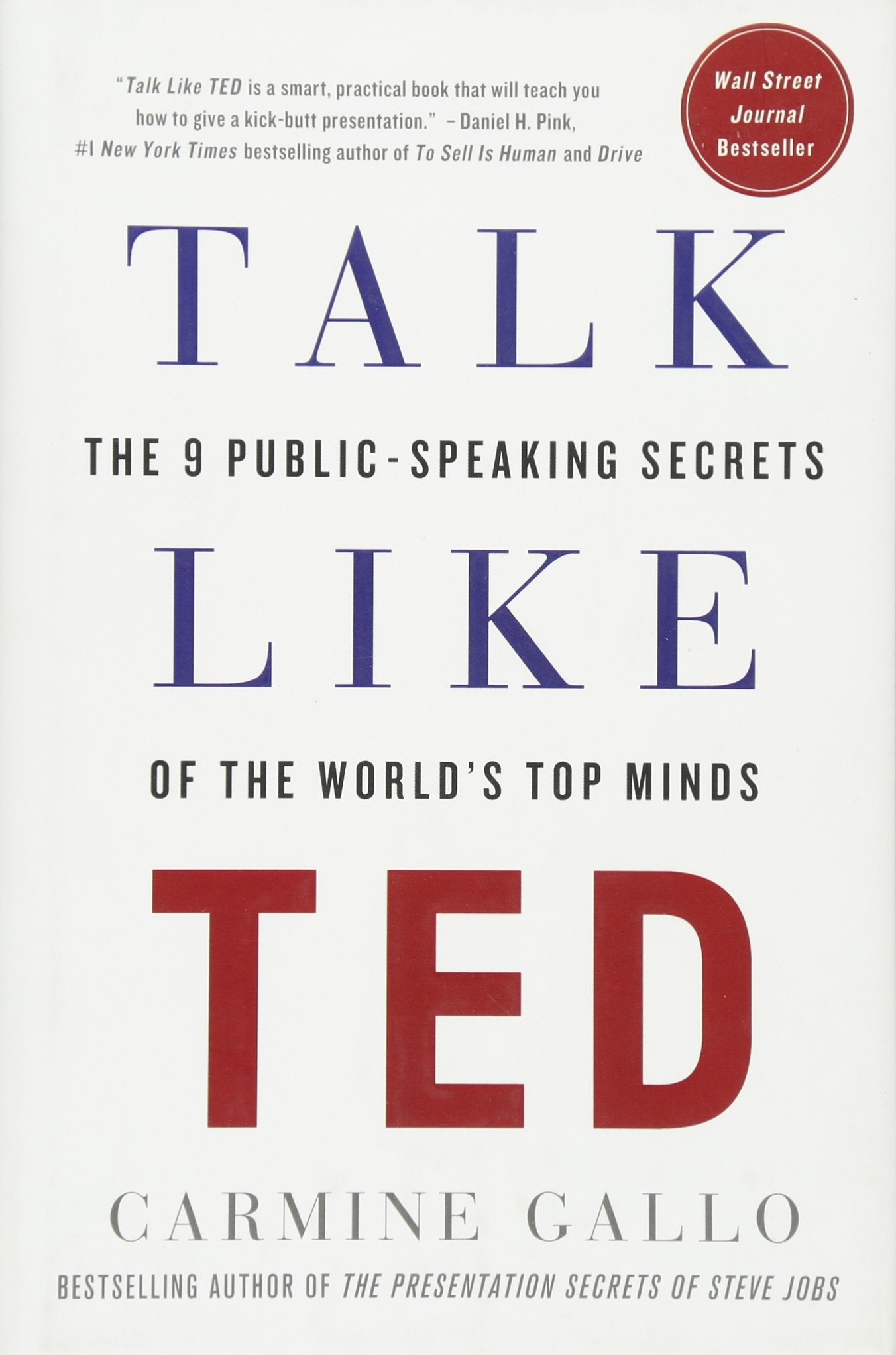 Talk like ted the 9 public speaking secrets of the worlds top talk like ted the 9 public speaking secrets of the worlds top minds carmine gallo 8601421489409 amazon books magicingreecefo Choice Image