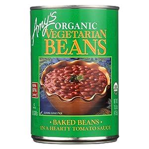 Amy's Organic Vegetarian Baked Beans - Case Of 12 - 15 Oz. 15 OZ