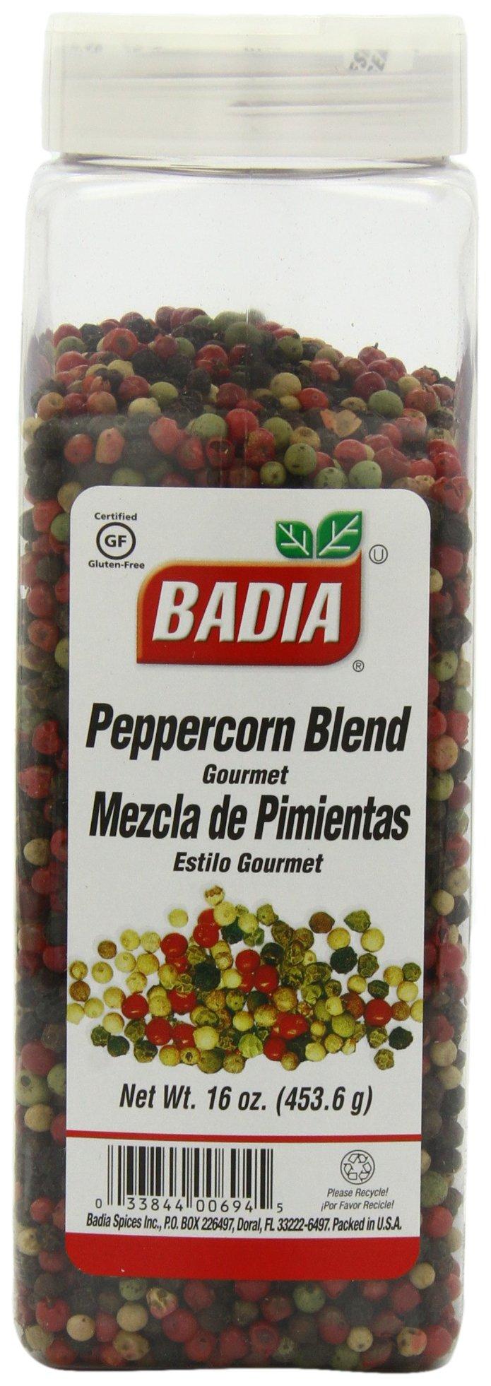 Badia Gourmet Peppercorn Blend, 16-ounces