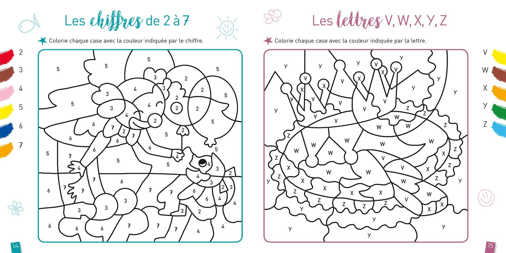 Coloriages magiques   La fête MS Amazon.fr Doutremepuich ...