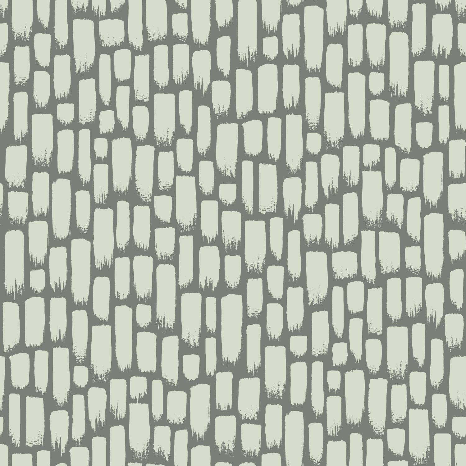 York Wallcoverings RY2714 Risky Business 2 Sumi-E Removable Wallpaper Metallic Gray - - Amazon.com