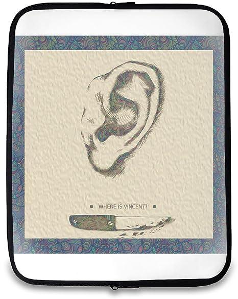 Vincent Van Gogh caja de ordenador portátil blanco blanco 14
