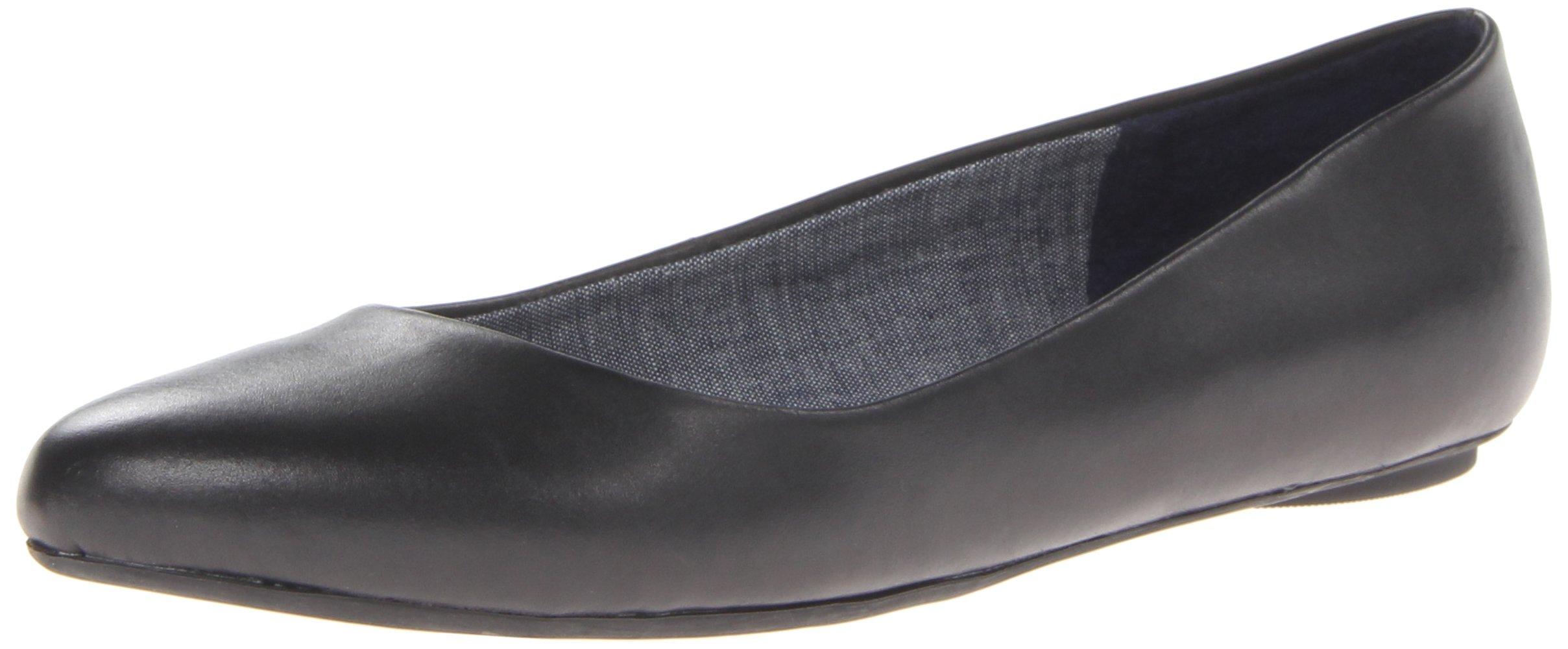 Dr. Scholl's Women's Black Flat  Shoes - 7.5 B(M) US