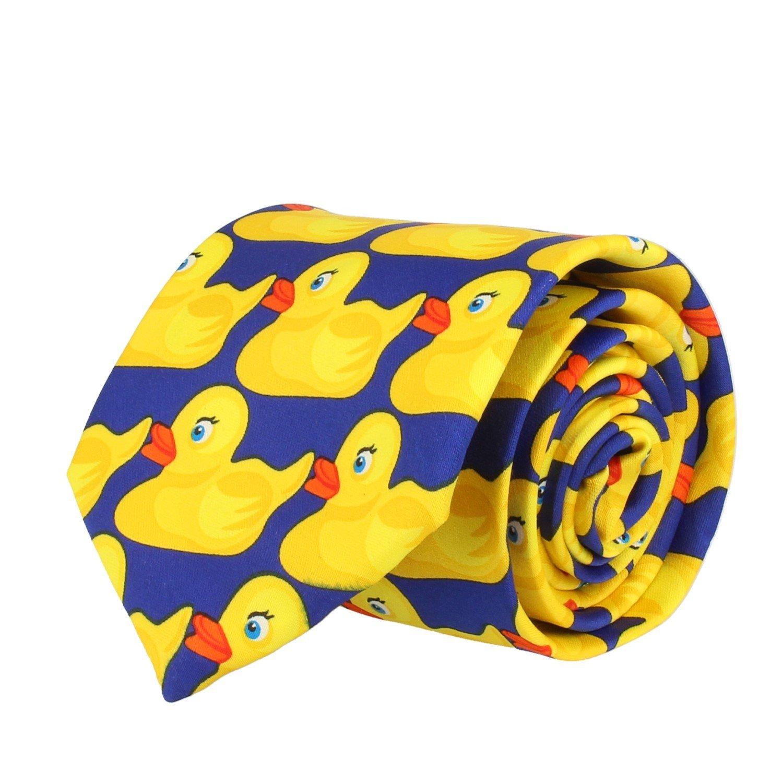 VIKINGS corbata HIMYM 8 cm Pato De Goma: Amazon.es: Ropa y accesorios