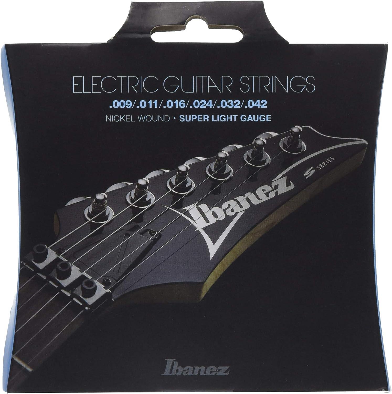 Ibanez IEGS6 - Juego cuerdas para guitarra eléctrica