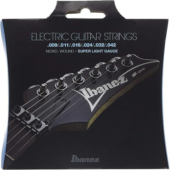 Ibanez IEGS6 - Juego cuerdas para guitarra eléctrica: Amazon.es ...