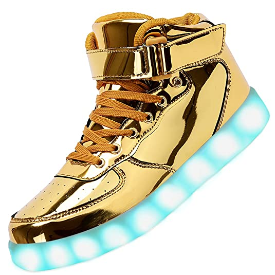 Odema Unisex LED High Top Light-Up Shoes