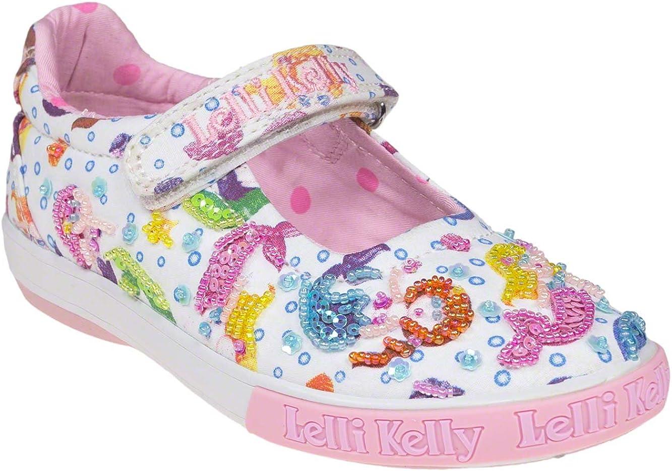 Lelli Kelly Mermaid Dolly Girls Canvas Shoes