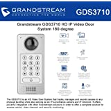 Grandstream GDS3710 HD IP Video Door System 180-degree, video security