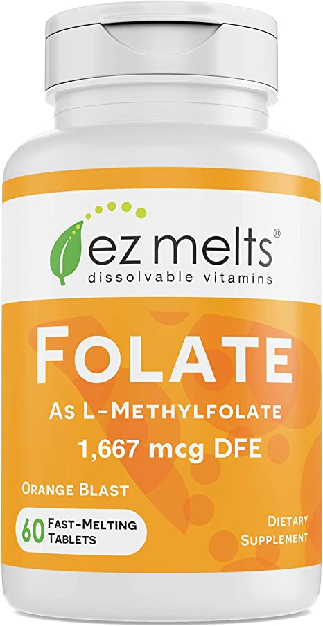 EZ Melts Folate as L-5-Methylfolate