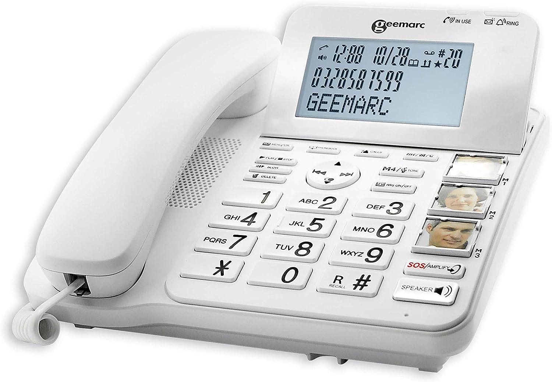 Geemarc CL595 - Teléfono para personas mayores: Amazon.es: Electrónica