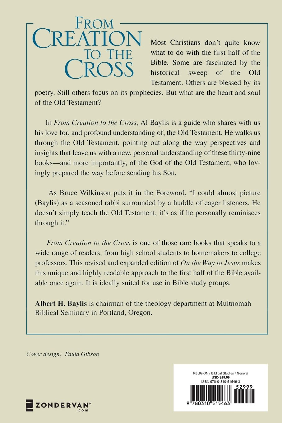 from creation to the cross understanding the first half of the