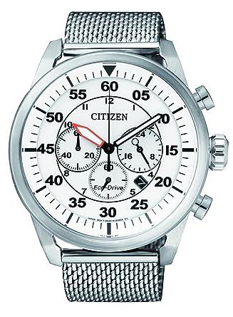 Citizen de Hombre Reloj de Pulsera Cronógrafo Cuarzo Acero Inoxidable CA4210 - 59 A: Amazon.es: Relojes