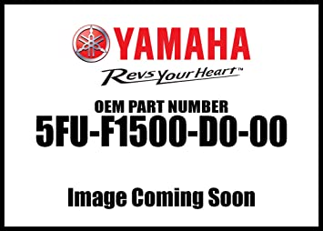 Yamaha 1D9F15001100 Green Front Fender Assembly