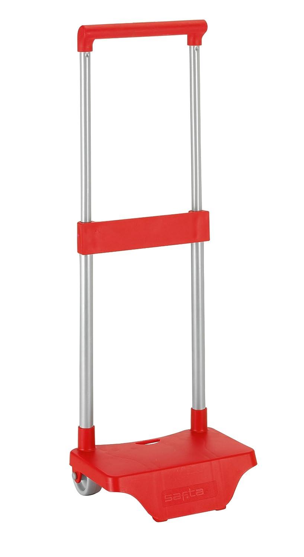 Safta Trolley pour les sacs à dos d'école, pliable, léger, résistant avec poignée extractible et roues 641076705