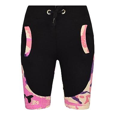 4ab92820e4 A2Z 4 Kids® Kinder Kurze Hose Mädchen Jungen Designer Camouflage - Shorts  Contrast Panel Baby