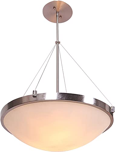 Design House 500983 Eastport 3 Light Pendant, Satin Nickel