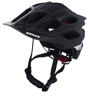 Kenny Enduro S2 Casco Mixto, Color Negro, tamaño L