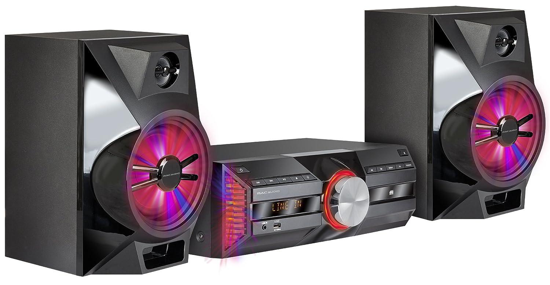 Mac Audio MPS | Dab + Minicadena | High de Power Sistema Hi-Fi con Dab +, Bluetooth, USB, CD, Entrada Auxiliar, RDS – Negro MPS 701 Negro