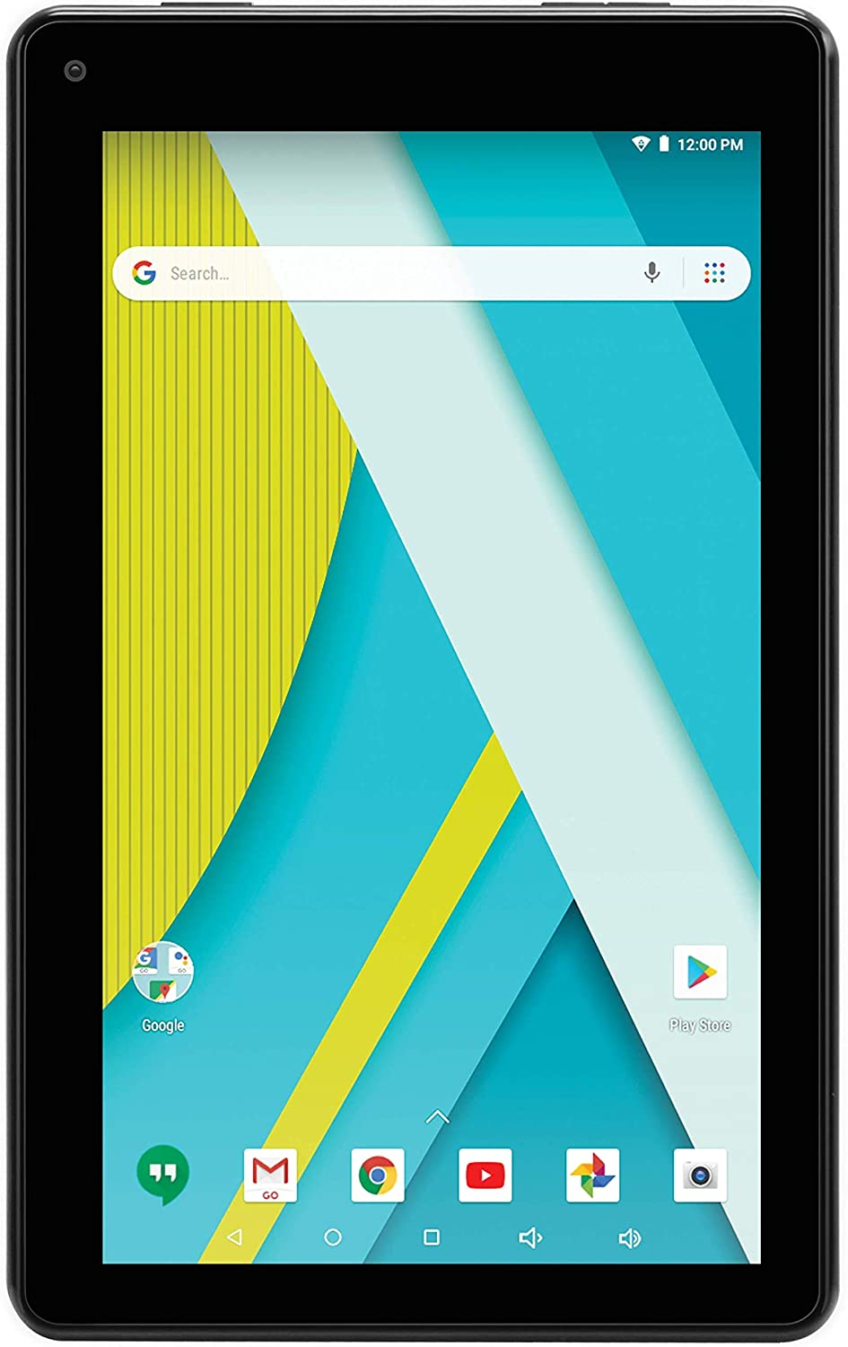 """RCA (RCT6973W43MDN) 7"""" Voyager III Android Tablet - Dual Cameras and Google Play - (16GB, Black)"""