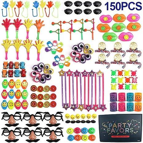 Recuerdos de fiesta Surtido de juguetes, 150 paquetes ...