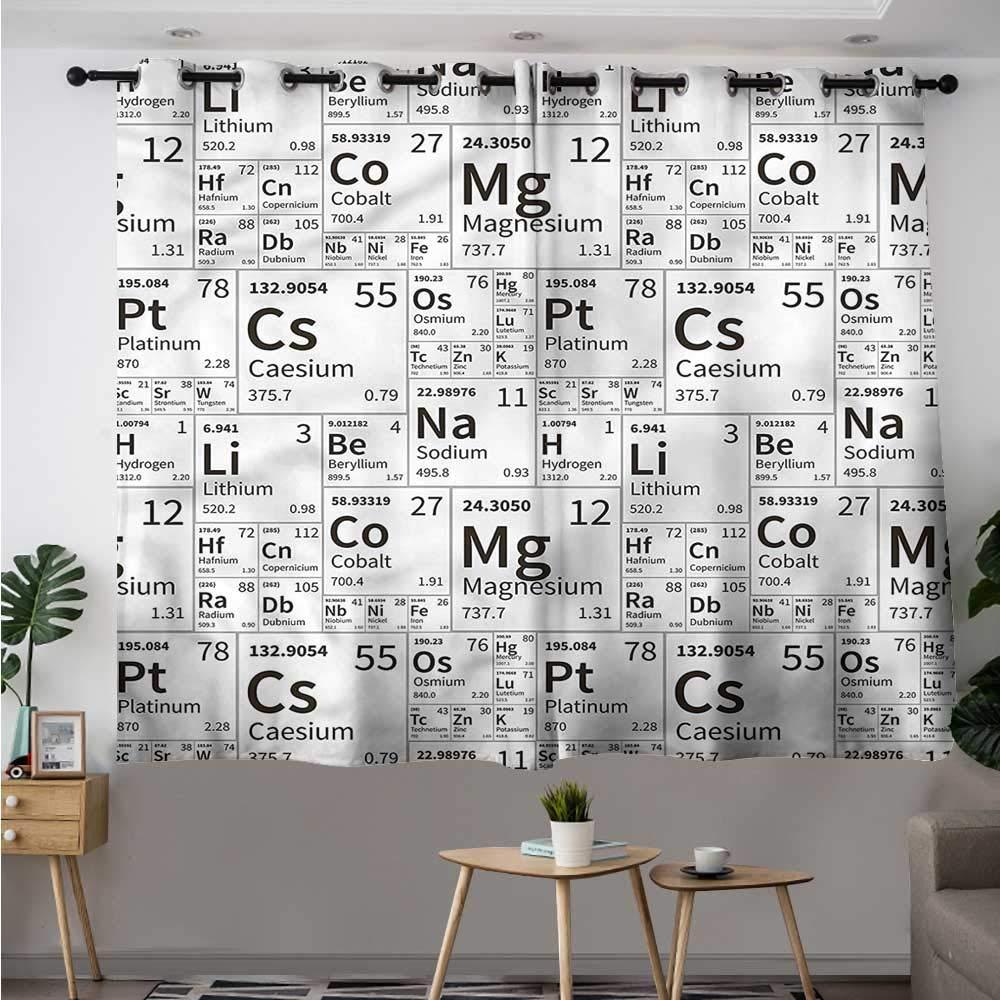 Amazon Com Fbdace Periodic Table Doorway Curtain School