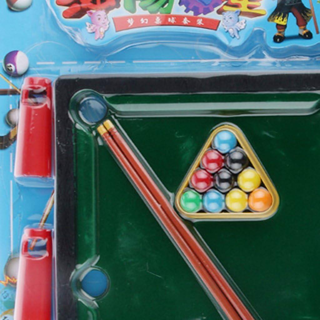Juegos de Mesa Piscina Escritorio Mini Bola de Billar Niños Negro ...