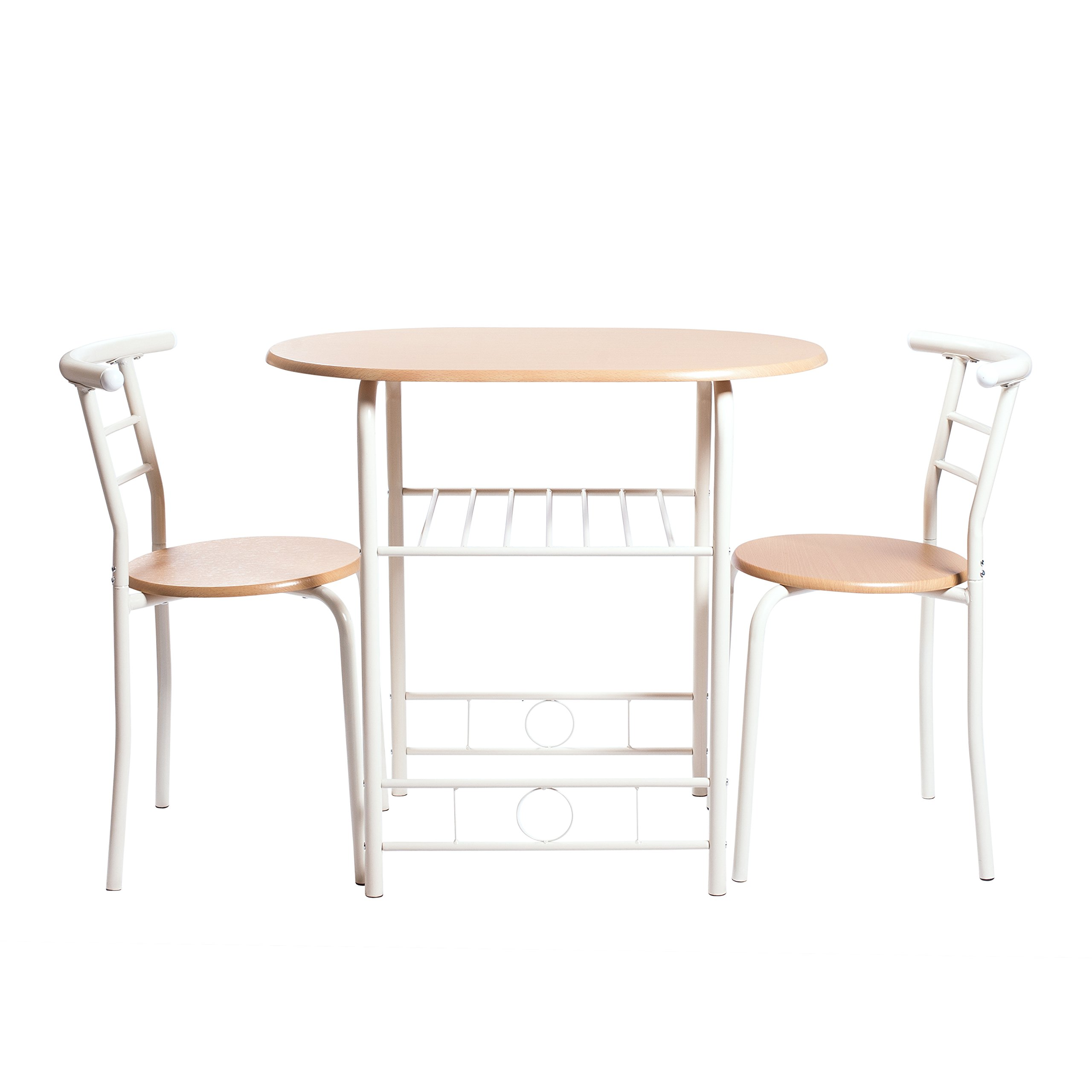 Handi-Craft 3 Piece Compact Dining Set w/Table and Matching Chairs by Handi-Craft
