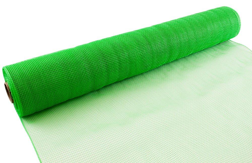 Eleganza Deco, Tessuto a Rete, 53 cm x 9,1 m, Colore Verde Mela, n. 63 Oaktree 639652