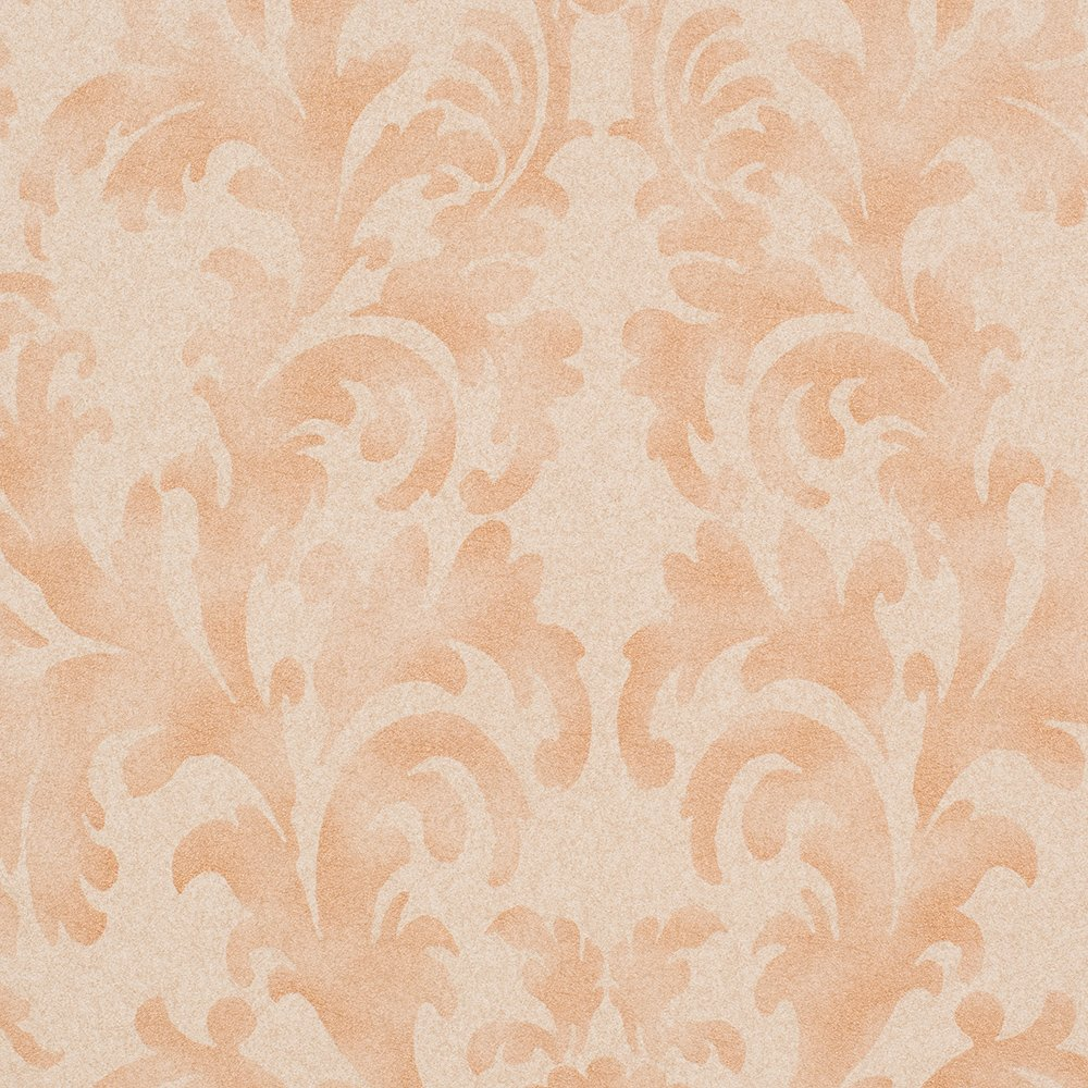Star Fade Tan/Bronze Damask Vinyl Wallpaper For Walls - Double Roll - By Romosa Wallcoverings