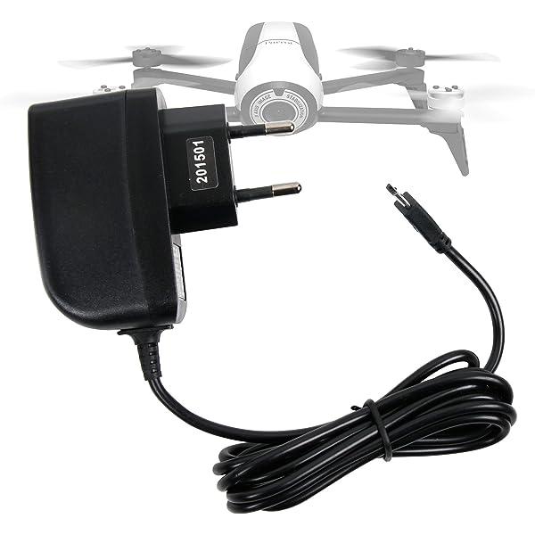 DURAGADGET Cargador (2 Amperios) para Dron Parrot Bebop 2: Amazon ...