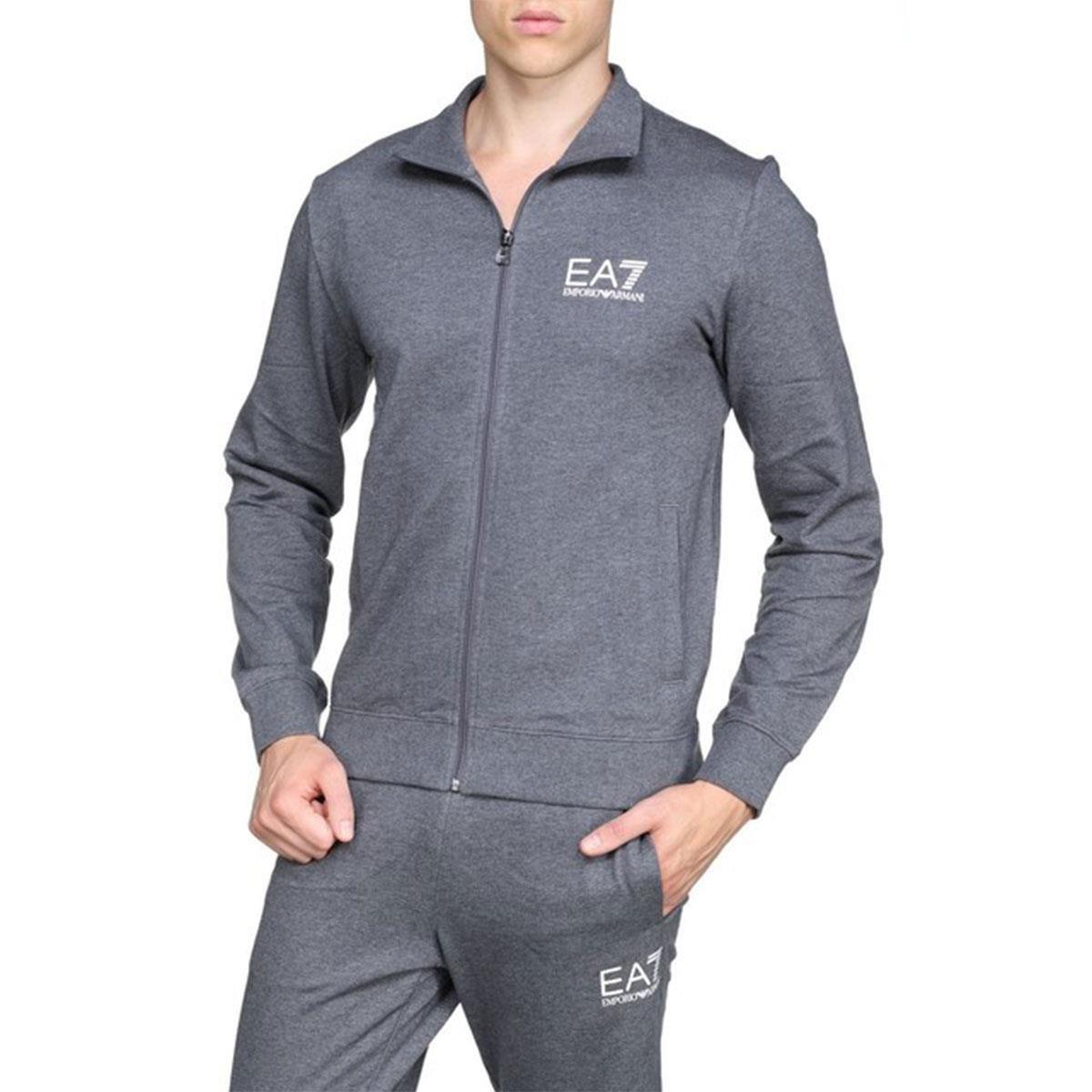 Emporio Armani EA7 EA7 Men's Full Zip Cotton Tracksuit