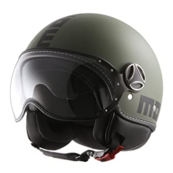 Momo 10140500035 Casco Moto, Raptor Black Matt, ML
