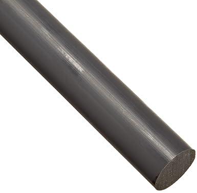Acetal Round Rod Meets ASTM D6100 1-1//4 Diameter 3 Length 1-1//4 Diameter 3/' Length Small Parts 903147 Opaque White