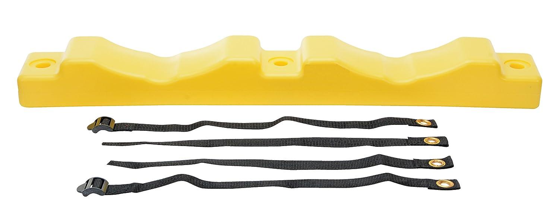 Vestil CB-W-2P Wall Mounted Bracket for 2 Cylinders, Plastic