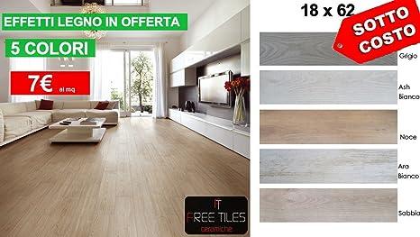 Campione piastrelle pavimento gres effetto legno bianco