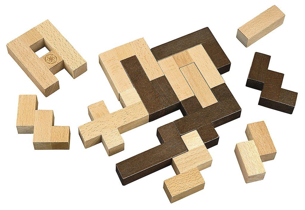 26056/insegnante timbro 6/timbro di legno nel Set Moses