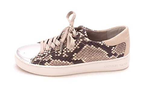 a070a5efd6d21 Michael Michael Kors Womens Frankie Sneaker Leather Low Top Lace Up Fashion  S.: Amazon.co.uk: Shoes & Bags