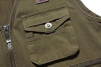 91f6427c6002f0 Herren Outerwear Fashion Normallacks Ärmellos Tactical Sportlich  Multitasche Photography Weste Fischer Westen Wesentlich Jacken: Amazon.de:  Bekleidung